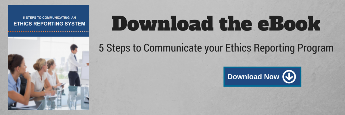 eBook: 5 Steps to Communicate your Ethics Reporting System